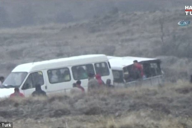 В Турции из-за аварии трех воздушных шаров травмировались 49 туристов
