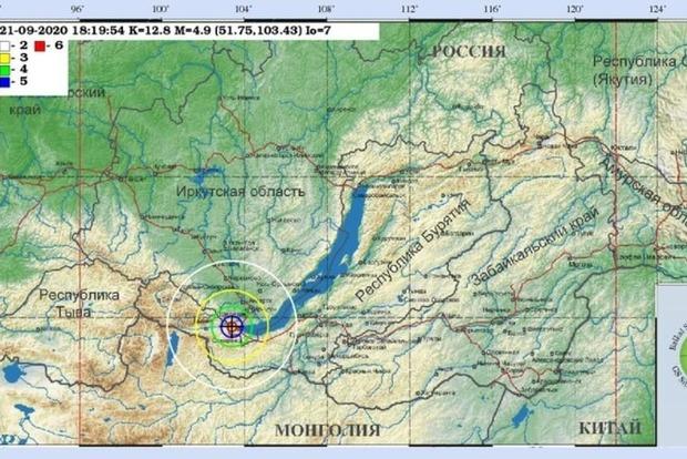 Байкал сильно труснуло перший раз за довгий час