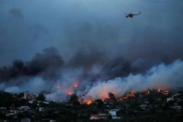 Смертоносные пожары в Греции - дело рук поджигателей