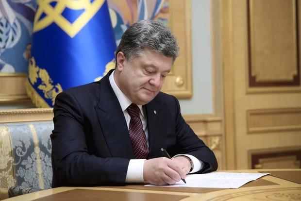 Порошенко уволил главнокомандующего Военно-морских сил