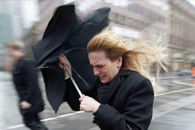 На завтра оглашено штормовое предупреждение по Украине