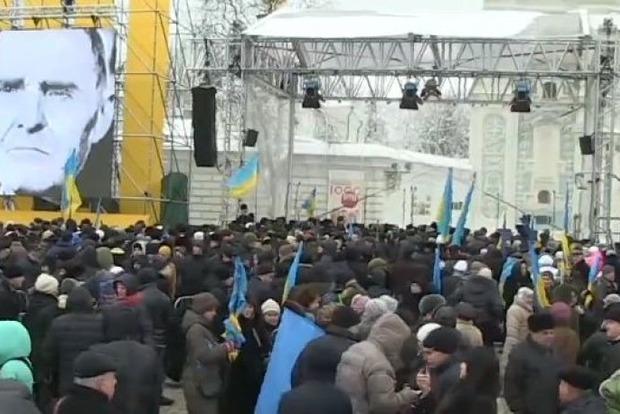 Шкиряк: Софийскую площадь охраняют 4 тысячи полицейских