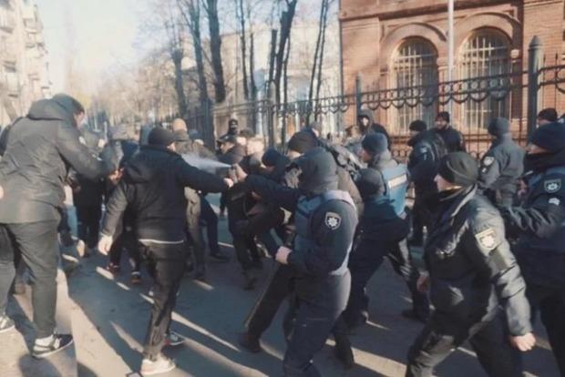 Нацкорпус разгромил съемочную площадку фильма об НКВД