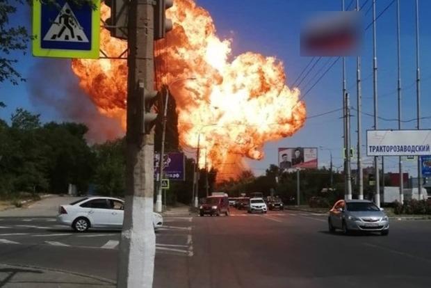 В Волгограде произошел взрыв. Есть пострадавшие