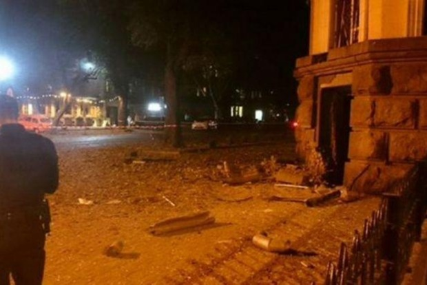 В Одессе посчитали убытки от взрыва здания СБУ