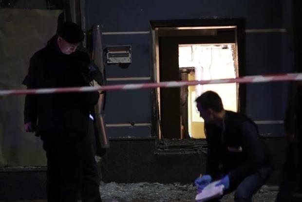 Полиция начала уголовное производство по факту взрыва в центре Киева