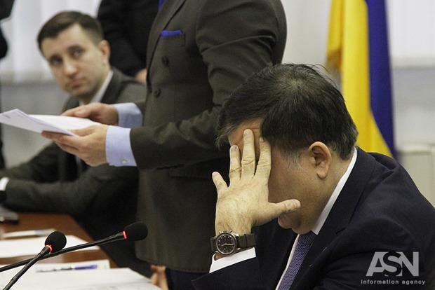 Саакашвили выслан из Украины по решению суда - Госпогранслужба