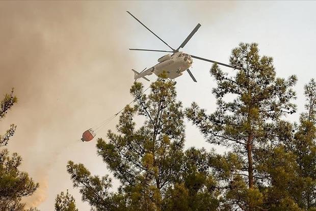 В Турции локализованы 107 из 112 очагов лесных пожаров