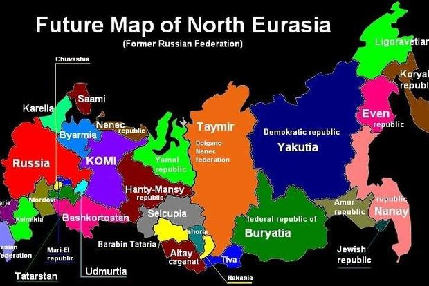 У Латвії пропонують поділити Росію на частини