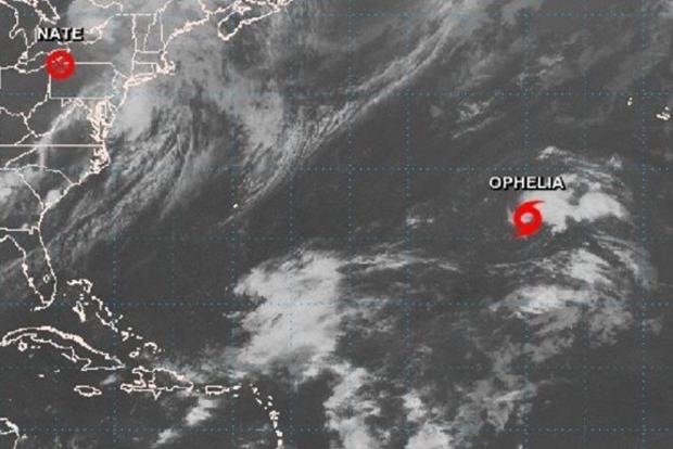 Еще один: В Атлантическом океане появился новый шторм Офелия