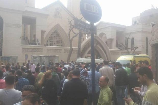 Взрыв в церкви в Египте. Опубликовано видео