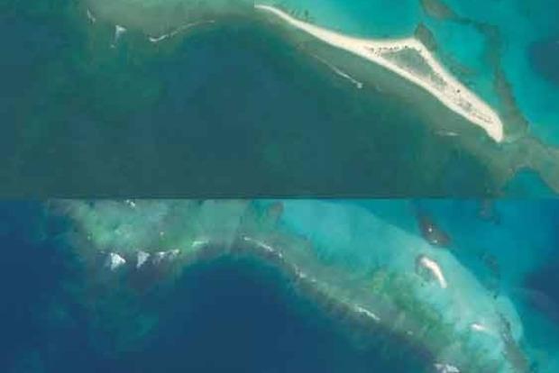Гавайи уходят под воду, исчез целый остров