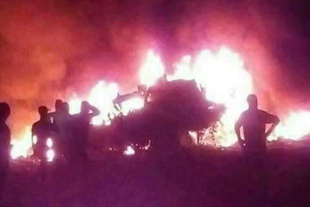 В Алжире разбился военный вертолет, погибли 5 членов экипажа