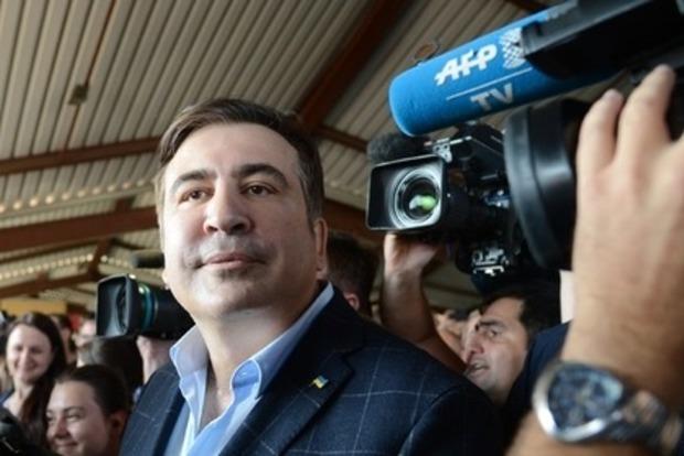 Пограничники зачитали Саакашвили протокол о незаконном пересечении границы