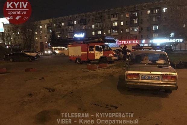 В Киеве неизвестный пытался взорвать газовую заправку