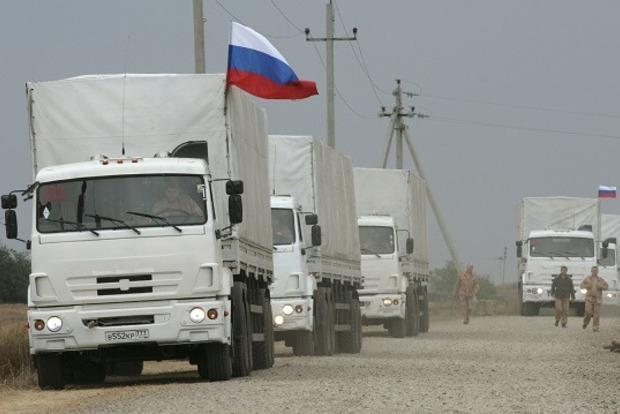 РФ везет на Донбасс очередной «гумконвой»