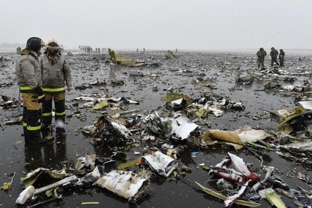 Опубликован отчет о крушении самолета в Ростове-на-Дону