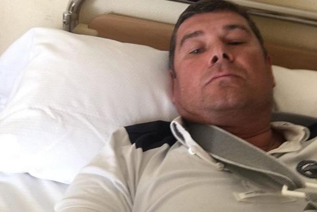 Нардеп-втікач Олександр Онищенко травмувався під час падіння зконя