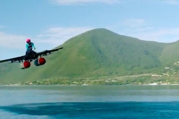 Сооснователь Google показал «летающий автомобиль»