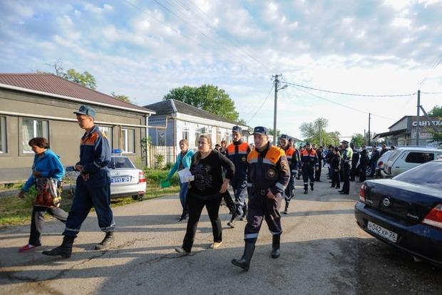 На Ставрополье из-за наводнения эвакуировали более 60 тысяч человек