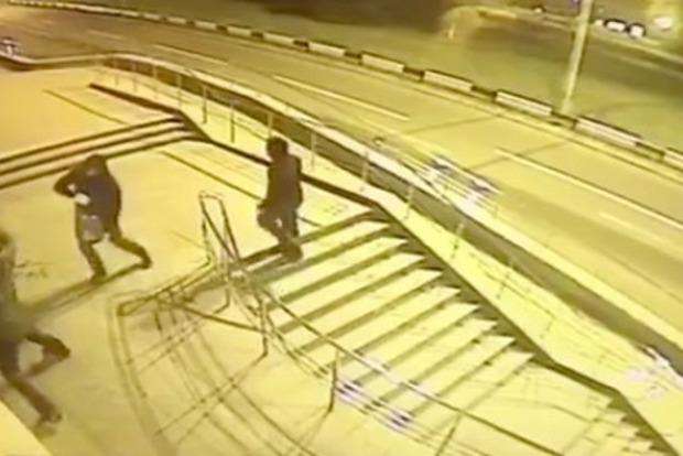 Вилкул опубликовал видео поджога офиса в Днипре