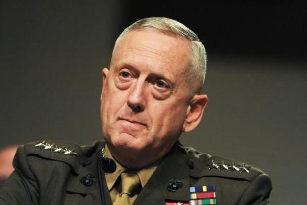 В Украину прибыл глава Пентагона США Джеймс Мэттис