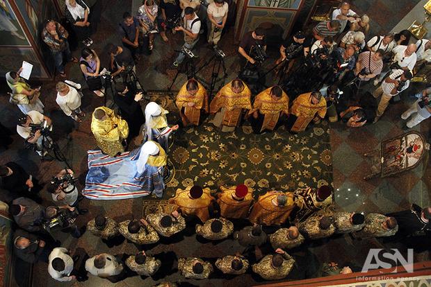 Защитница защитников. В Киеве появилась икона Богородицы «воинской»