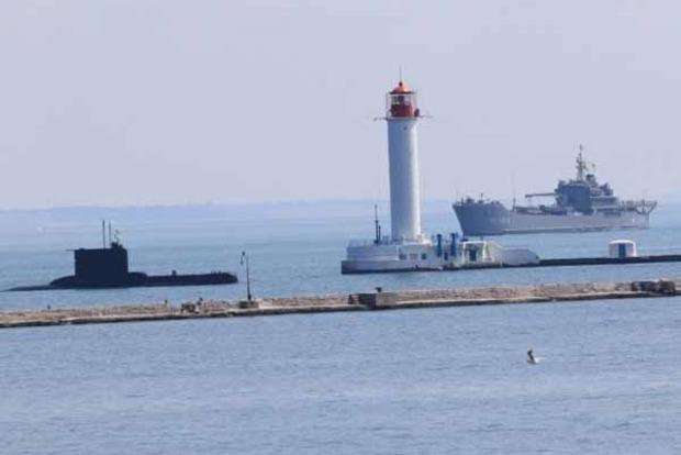 В порт Одессы зашли корабли ВМС Турции