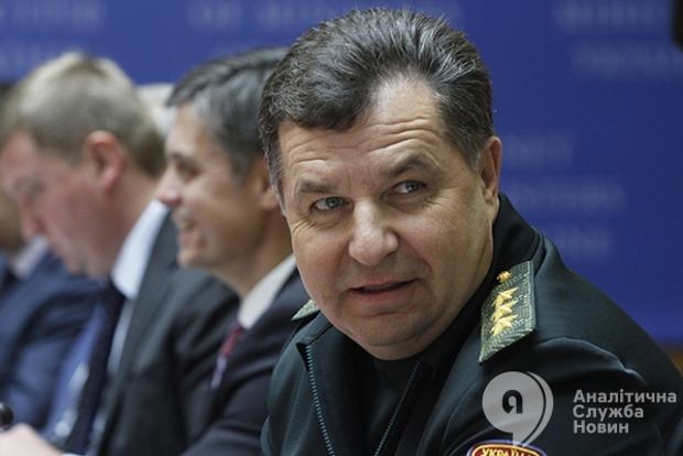 Полторак: Обстрелы из запрещенного вооружения боевики уменьшили с 60 до 20%