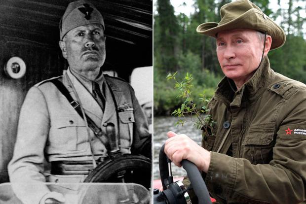 Putolini: Соцсети намекают, что не хватает еще одного, последнего сравнения Путина и итальянского диктатора