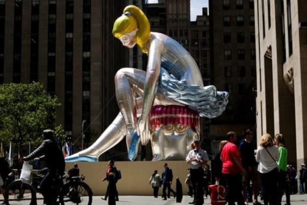 Американский скульптор уверяет, что не занимался плагиатом статуэтки украинской художницы