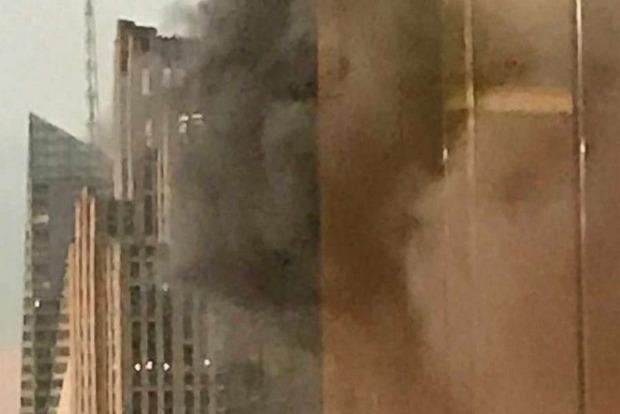 В помещении Trump Tower вНью-Йорке случилось возгорание