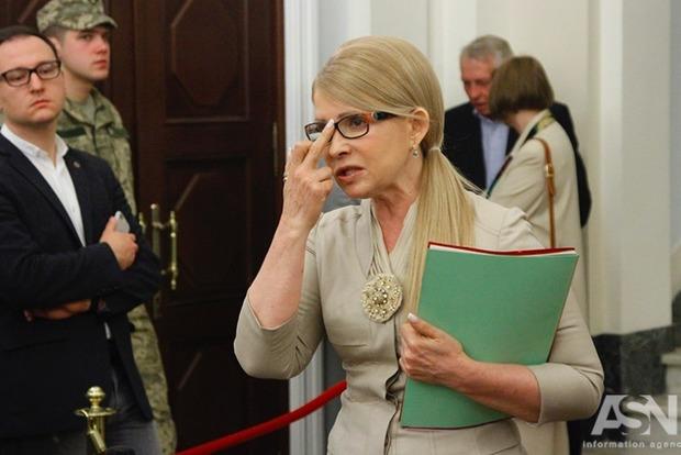 Тимошенко хочет собрать президента, премьера и глав фракций для подготовки стратегии развития Украины