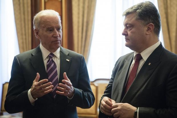 Порошенко встретится с Байденом 15 января в Киеве
