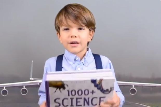 Маленький мальчик в США нашел ошибку в энциклопедии Британии