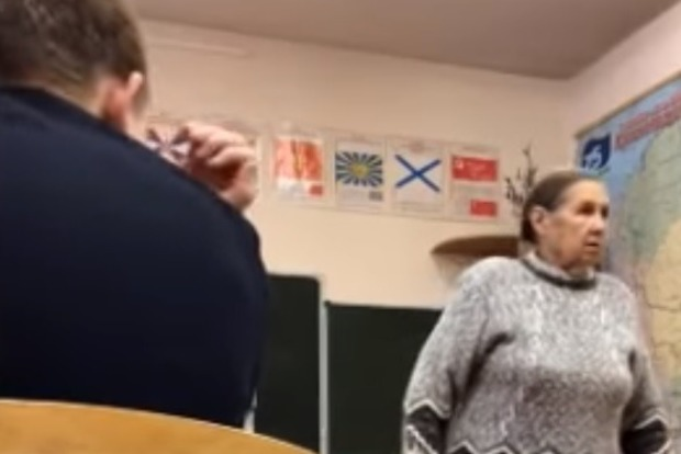 Был бы расстрел. Учительница в РФ пригрозила школьникам за надпись Путин - вор