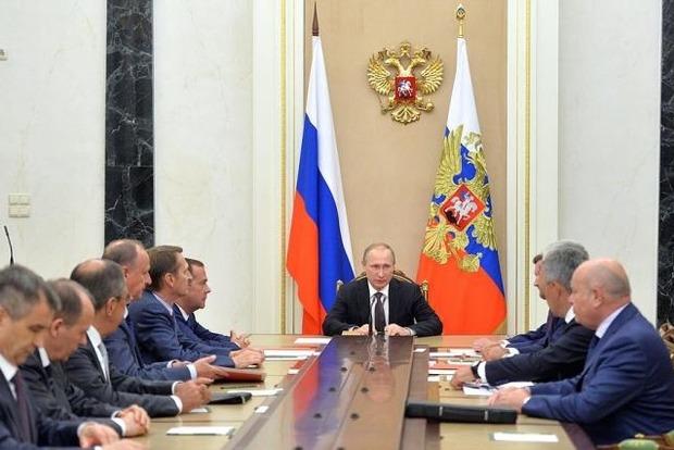 Путін скликав Раду Безпеки РФ, щоб обговорити автокефалію України