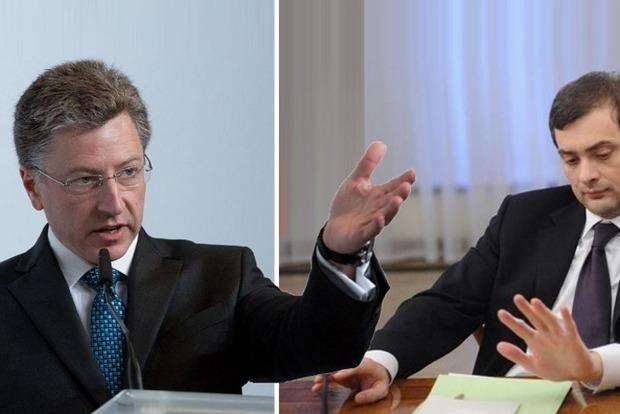 В Кремле уточнили, о чем будут говорить Сурков с Волкером