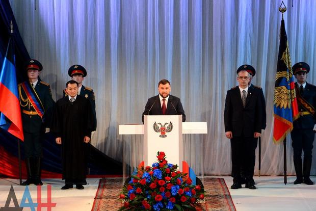 На коронацію Пушиліна у ДНР приїхали представники дев'яти країн