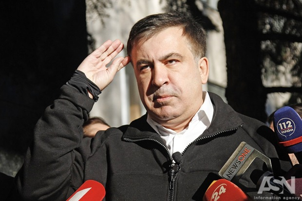 Саакашвили: Меня вывозили вертолетом и частным самолетом