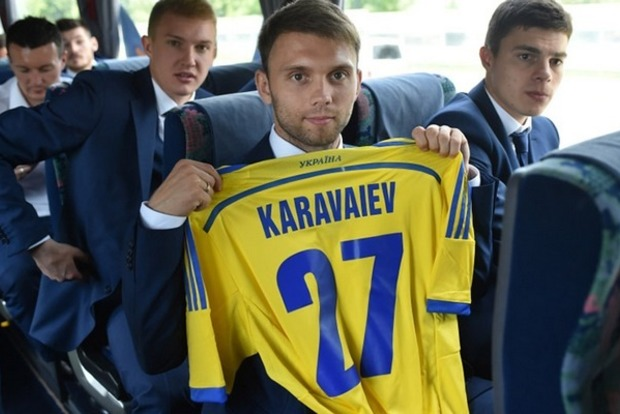 Шевченко вызвал игрока «Зари» Караваева из-за травмы Бутко