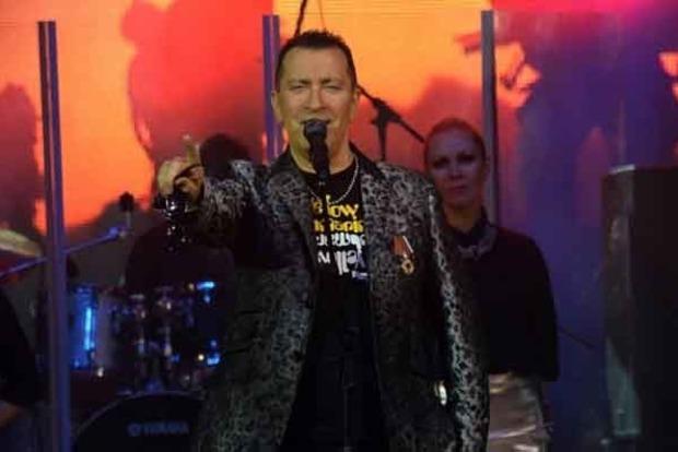 У «ДНР» виступив щеодин російський співак