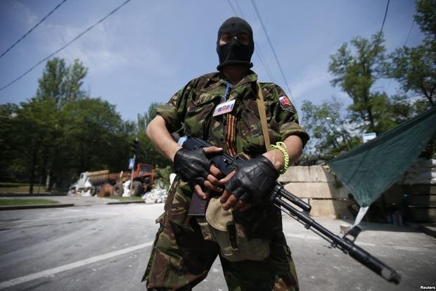 Боевики усилили обстрелы позиции сил АТО