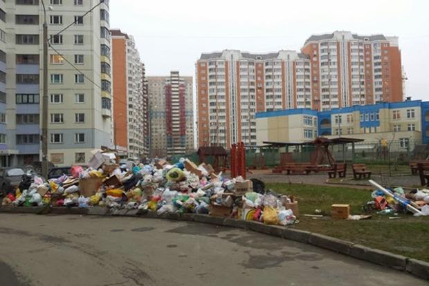 В Киеве за бросок мусора мимо урны хотят установить штраф в 22 тысячи гривен