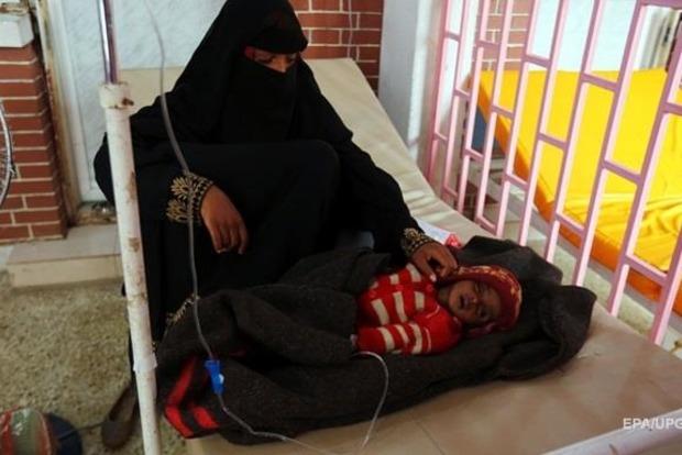 Отхолеры вЙемене пострадали 613 тыс.  человек