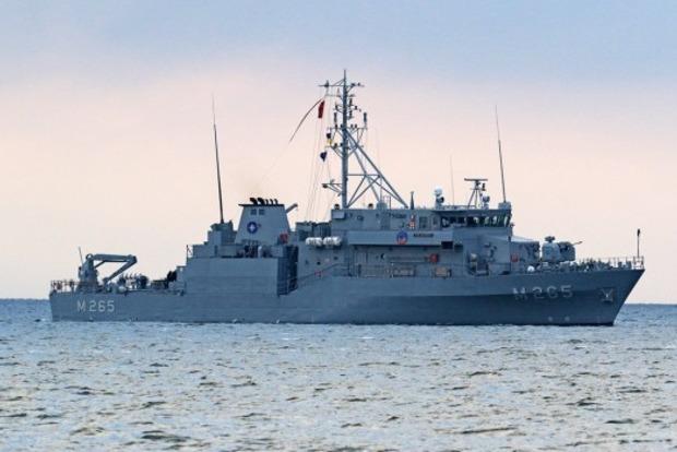 В порт Одессы вошли корабли НАТО