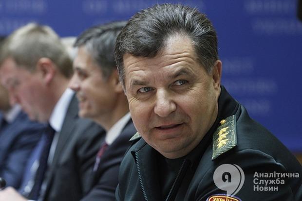 Полторак заявил об обострении ситуации на Донбассе