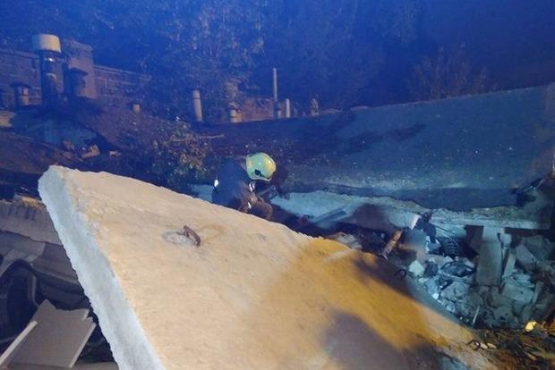 В центре Киева ночью прогремел взрыв в гаражном кооперативе