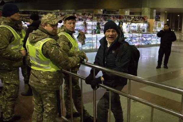 Проникающее ранение. В Киеве приезжий устроил кровавую резню