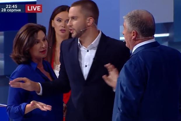 Богословская врезала Червоненко в прямом эфире за обвинения в продажности